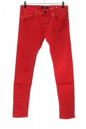 Replay Slim Jeans rot Casual-Look