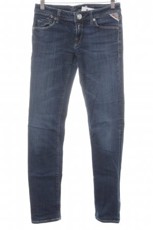 Replay Slim Jeans dunkelblau Casual-Look