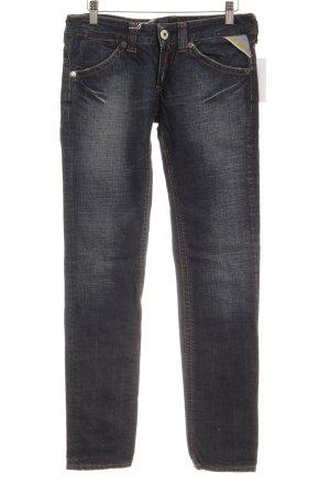 Replay Slim Jeans dunkelblau Vintage-Look