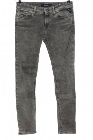 Replay Slim Jeans hellgrau Casual-Look