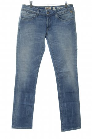 Replay Slim Jeans kornblumenblau-himmelblau Casual-Look