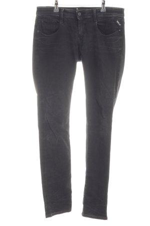 Replay Slim Jeans schwarz schlichter Stil