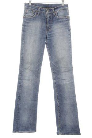 Replay Slim Jeans stahlblau Vintage-Look