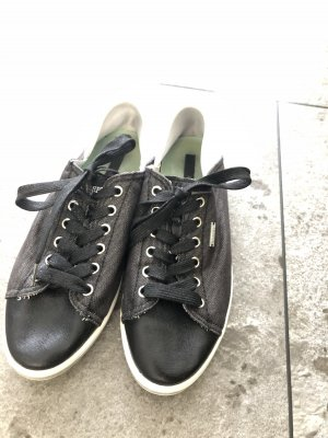 Replay Lace-Up Sneaker black-silver-colored