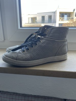 Replay High top sneaker groen-grijs