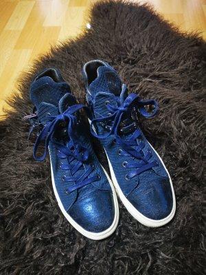 Replay High top sneaker donkerblauw