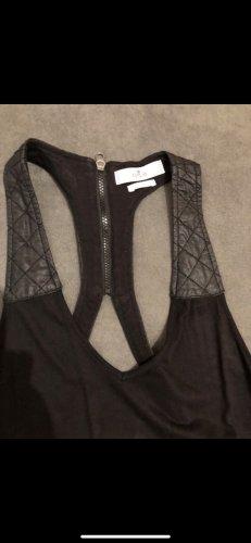 Replay Vestido de cuello Halter negro
