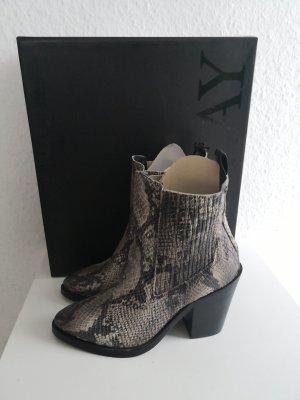 Replay Stiefeletten Cowboy Boots Schlangenleder-Optik NEU mit Karton NP 159€