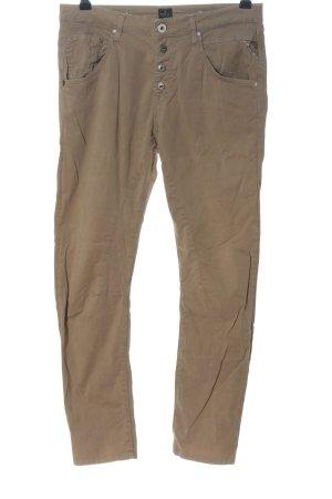 Replay Jersey Pants brown casual look