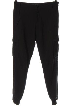 Replay Jersey Pants black casual look