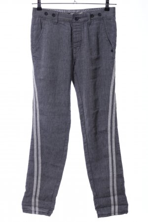 Replay Jersey Pants light grey flecked casual look
