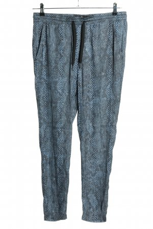 Replay Jersey Pants blue allover print casual look