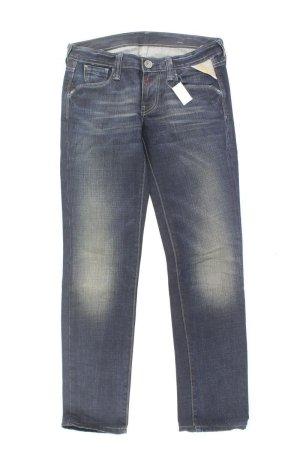 Replay Jeans a gamba dritta blu-blu neon-blu scuro-azzurro Cotone