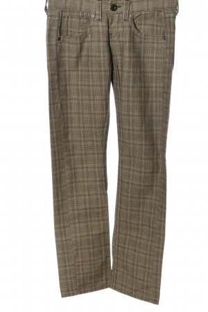 Replay Jersey Pants check pattern casual look