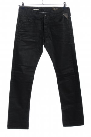 Replay Straight-Leg Jeans schwarz Casual-Look