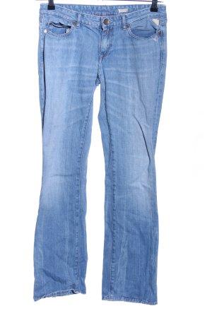 Replay Straight-Leg Jeans blau Casual-Look