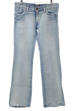 Replay Jeansy z prostymi nogawkami niebieski W stylu casual