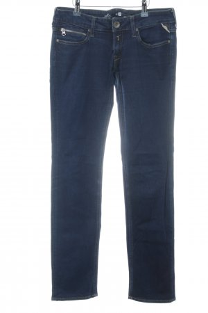Replay Jeansy z prostymi nogawkami niebieski-ciemnoniebieski W stylu casual