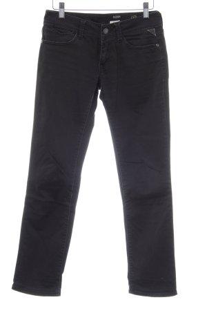 Replay Jeansy z prostymi nogawkami ciemnoszary W stylu casual
