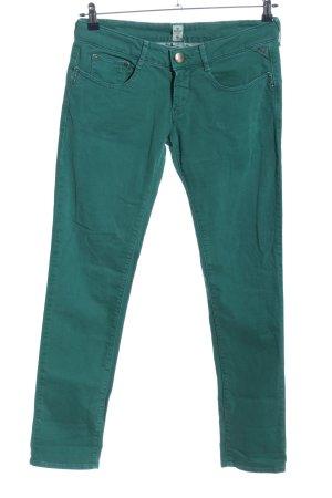 Replay Straight-Leg Jeans grün Casual-Look