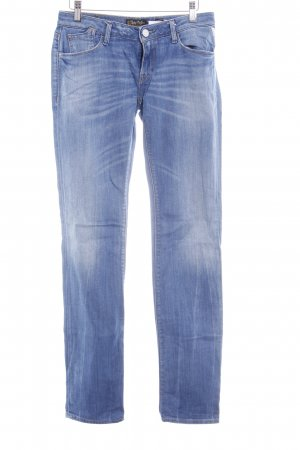 Replay Straight-Leg Jeans himmelblau-kornblumenblau Casual-Look