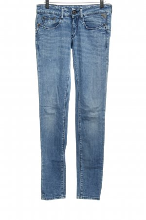 Replay Straight-Leg Jeans kornblumenblau Casual-Look