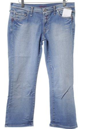 Replay Straight-Leg Jeans kornblumenblau-himmelblau Casual-Look