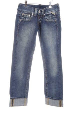 Replay Straight-Leg Jeans mehrfarbig Metallelemente