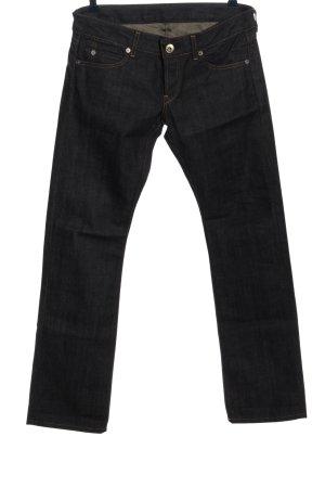 Replay Jeansy z prostymi nogawkami czarny W stylu casual