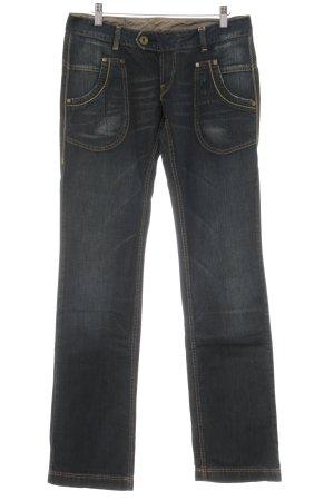 Replay Jeansy z prostymi nogawkami stalowy niebieski W stylu casual