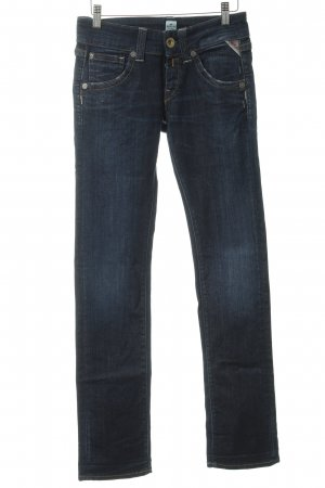 Replay Stretch Jeans dunkelblau Jeans-Optik