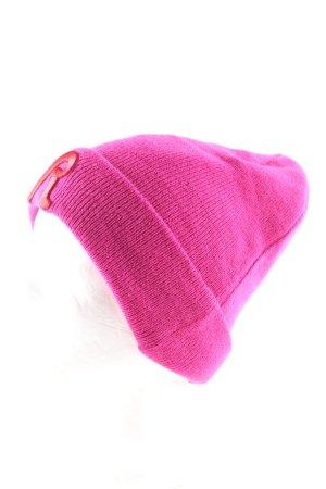Replay Chapeau en tricot rose style décontracté