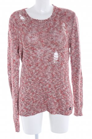 Replay Strickpullover pink meliert Casual-Look