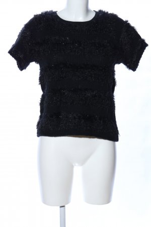 Replay Strickshirt schwarz Casual-Look