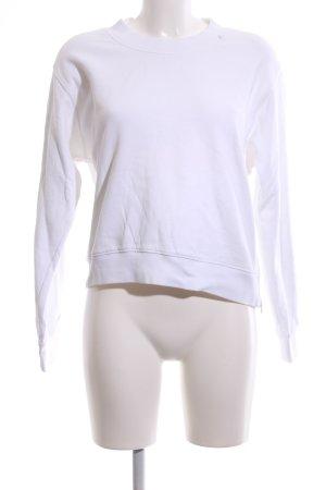 Replay Sweatshirt weiß Casual-Look