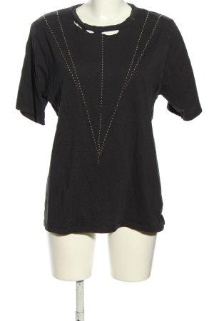 Replay T-Shirt schwarz Casual-Look