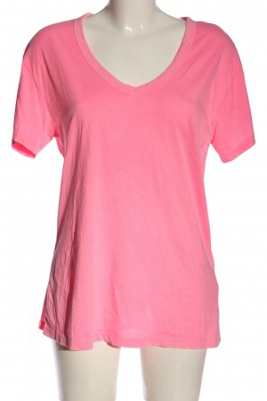 Replay Camiseta rosa letras impresas look casual