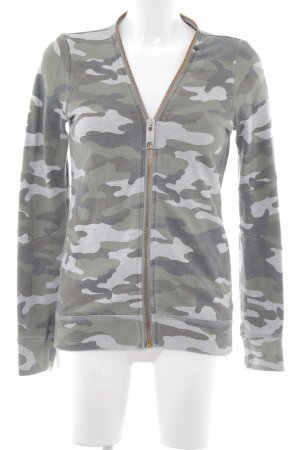 Replay Übergangsjacke Camouflagemuster Casual-Look