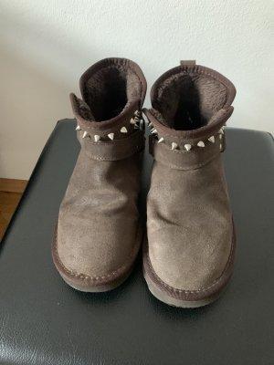 Replay Cothurne brun foncé-argenté