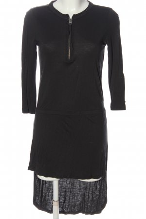 Replay Vokuhila-Kleid schwarz Casual-Look