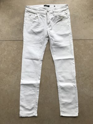 Replay Jeans cigarette blanc