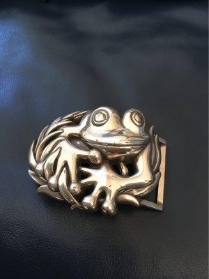 Reptile's House Fibbia per cinture argento