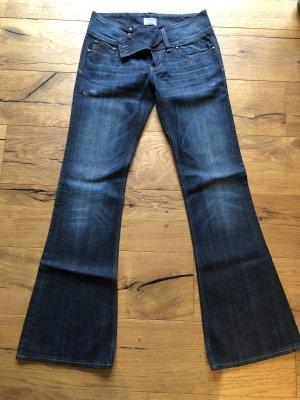 Rock Revival Jeans flare bleu foncé