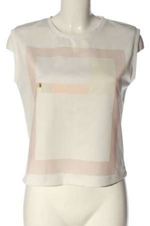 Reserved Tanktop wit grafisch patroon casual uitstraling