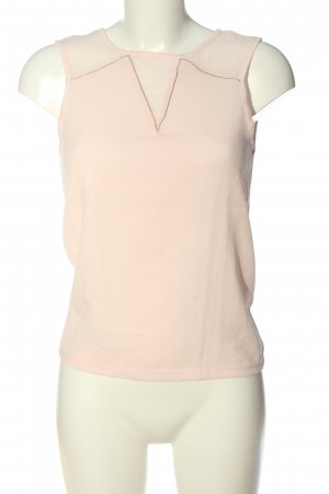 Reserved ärmellose Bluse creme Casual-Look