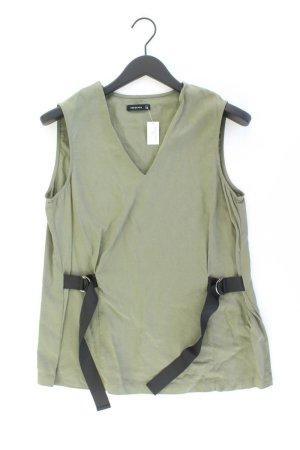 Reserved Ärmellose Bluse Größe 38 olivgrün aus Lyocell