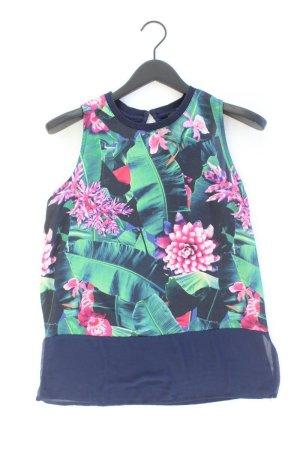 Reserved Ärmellose Bluse Größe L mit Blumenmuster mehrfarbig aus Viskose