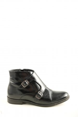 Reserved Ankle Boots schwarz Business-Look
