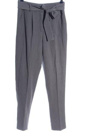 Reserved Spodnie garniturowe jasnoszary Melanżowy W stylu biznesowym