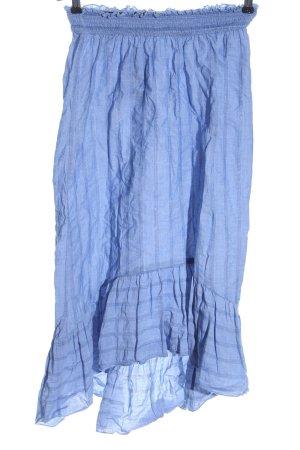 Reserved Asymmetrie-Rock blau Casual-Look